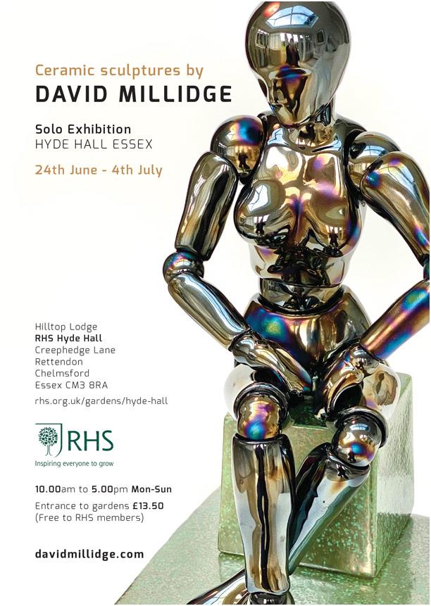A5 Postcard Hyde Hall David Millidge 2021-1